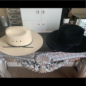 2 western hats